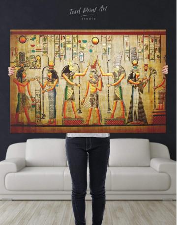 Egypt Mythology Canvas Wall Art - image 5