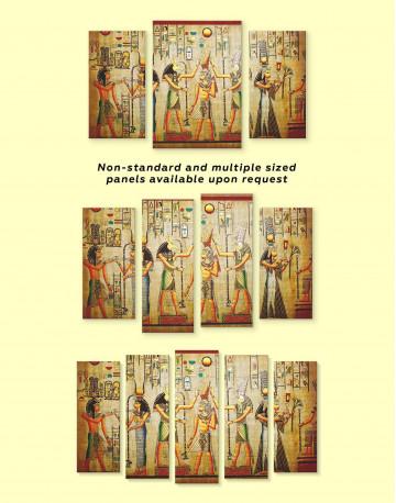 Egypt Mythology Canvas Wall Art - image 2