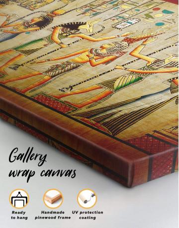 Egypt Mythology Canvas Wall Art - image 4