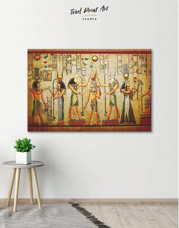 Egypt Mythology Canvas Wall Art