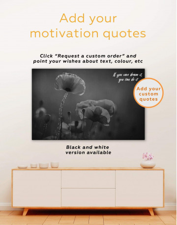 Red Poppy Canvas Wall Art - image 6