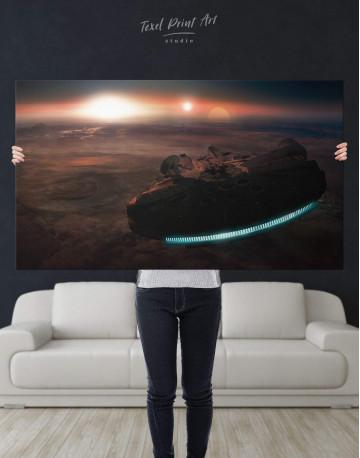 Starship Millennium Falcon Canvas Wall Art - image 2