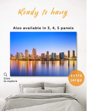 San Diego California Canvas Wall Art - Image 5