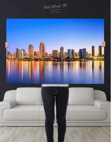 San Diego California Canvas Wall Art - image 4