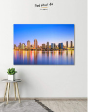 San Diego California Canvas Wall Art - Image 0