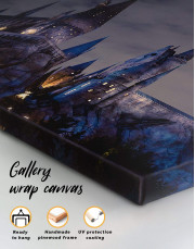Harry Potter Hogwarts Canvas Wall Art - Image 3
