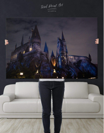 Harry Potter Hogwarts Canvas Wall Art - image 5