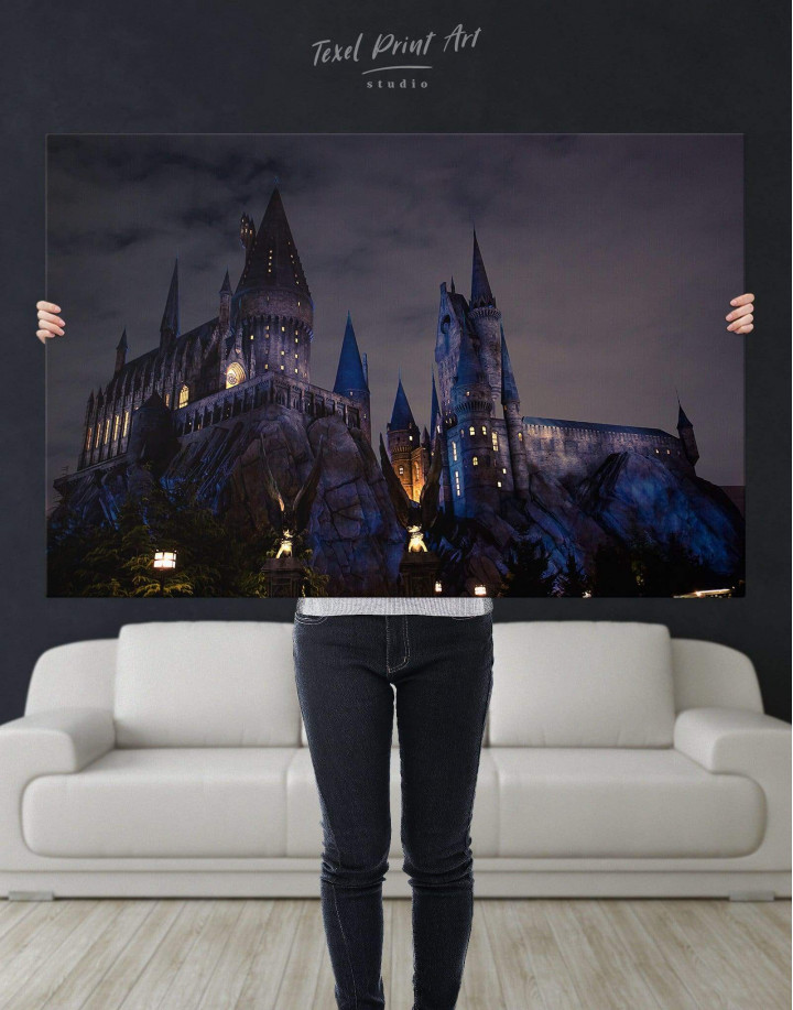 Harry Potter Hogwarts Canvas Wall Art - Image 2