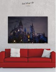 Harry Potter Hogwarts Canvas Wall Art - Image 0
