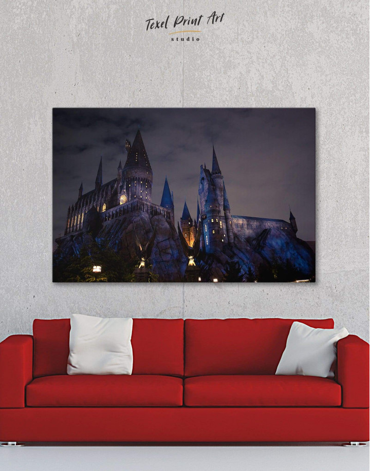 Harry Potter Hogwarts Canvas Wall Art - Image 0