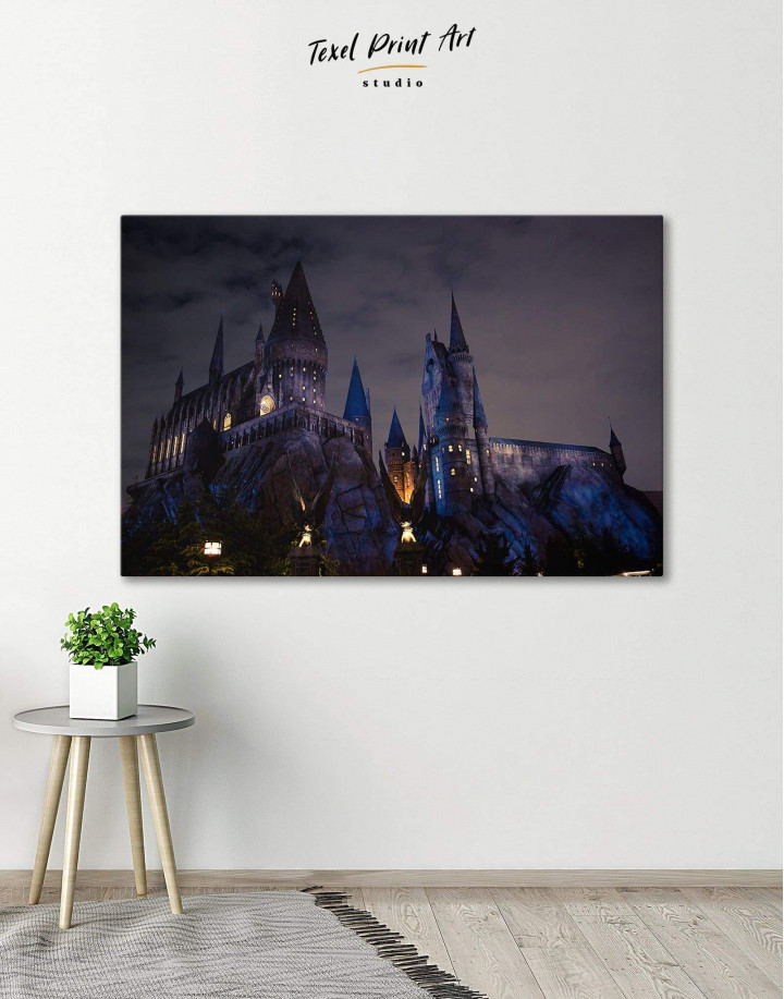Harry Potter Hogwarts Canvas Wall Art - Image 1