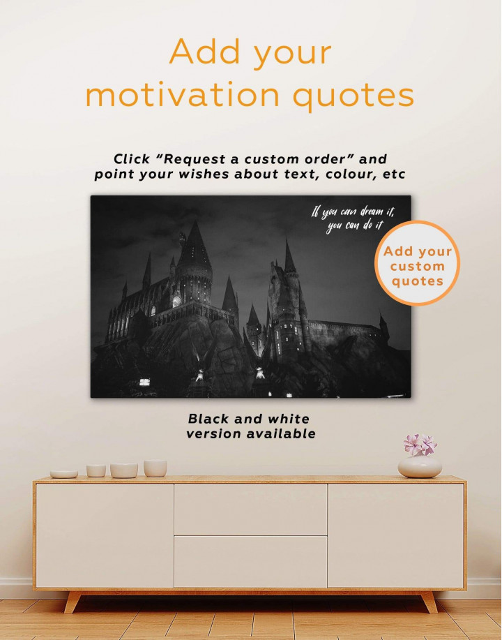 Harry Potter Hogwarts Canvas Wall Art - Image 6