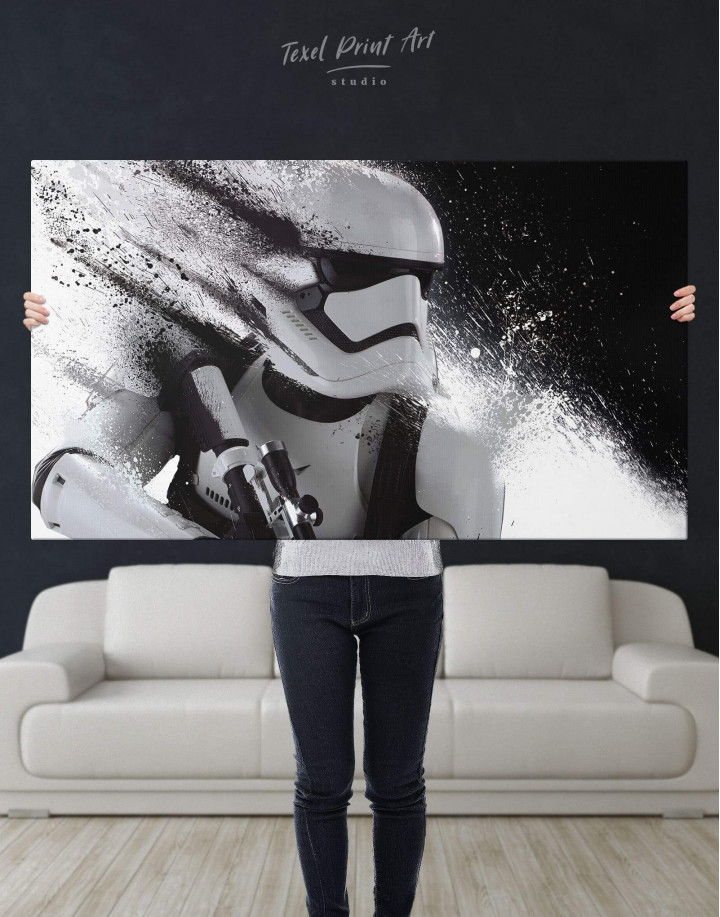 Star Wars Stormtrooper Canvas Wall Art - Image 5