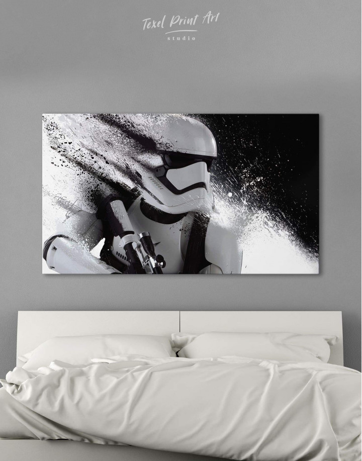 Star Wars Stormtrooper Canvas Wall Art - Image 6