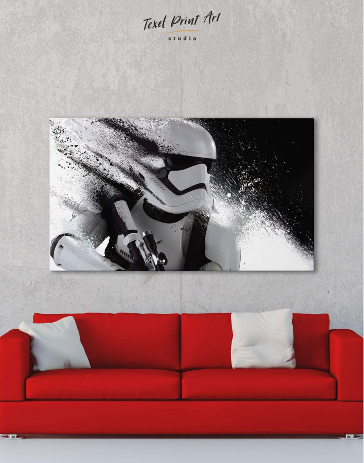 Star Wars Stormtrooper Canvas Wall Art - Image 0