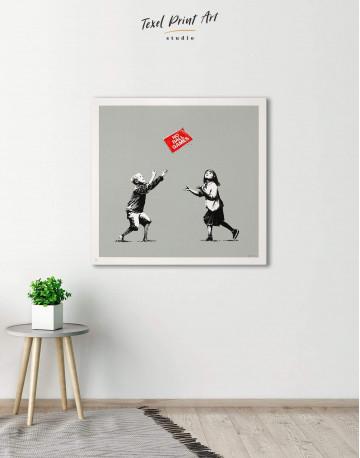 No Ball Games Canvas Wall Art - image 1
