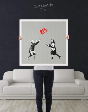 No Ball Games Canvas Wall Art - image 2