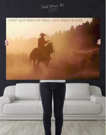 Cowboy Canvas Wall Art - image 5