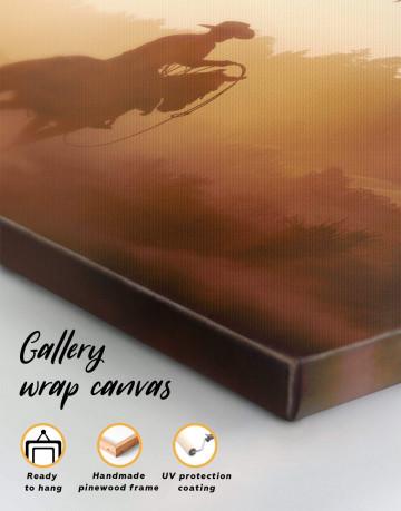Cowboy Canvas Wall Art - image 4
