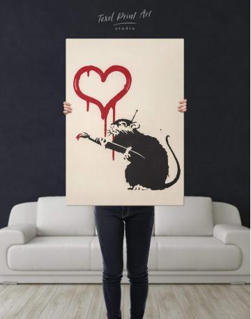 Love Rat Canvas Wall Art - image 3