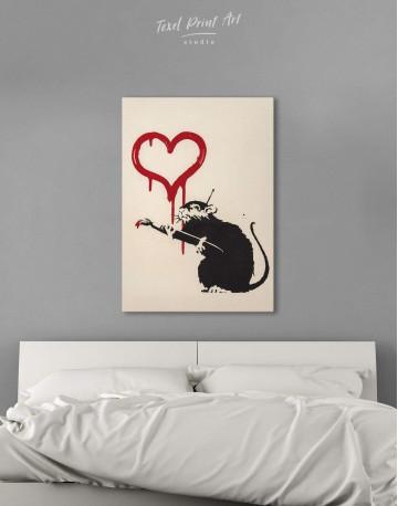 Love Rat Canvas Wall Art - image 2