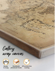 Middle Earth Map Canvas Wall Art - Image 3