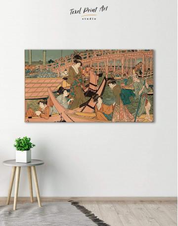 Ukiyo-e Tokugawa Japanese Canvas Wall Art - image 2