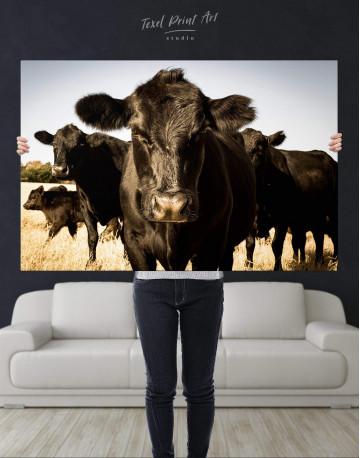 Cows Animal Canvas Wall Art - image 2