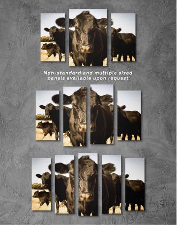 Cows Animal Canvas Wall Art - image 5