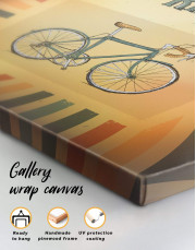 Bicycle Canvas Wall Art - Image 4