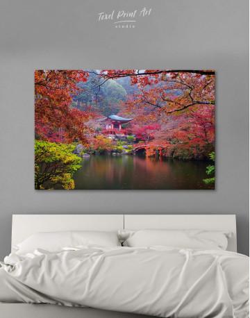 Japan Temple Canvas Wall Art - image 1