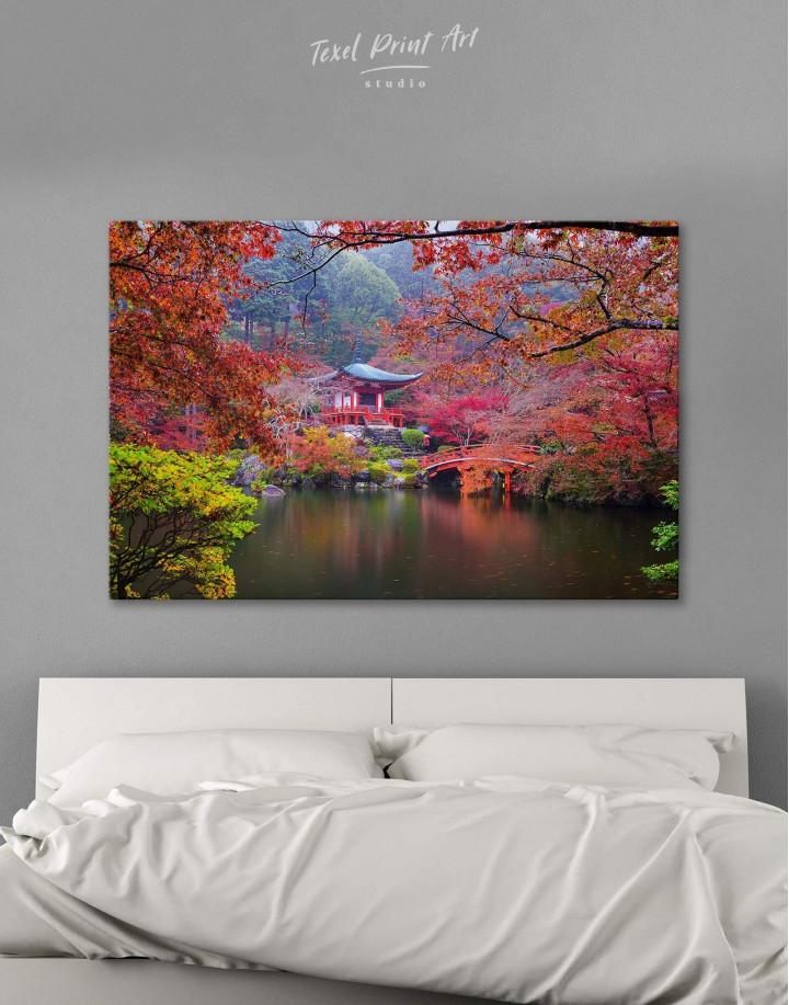 Japan Temple Canvas Wall Art - Image 5