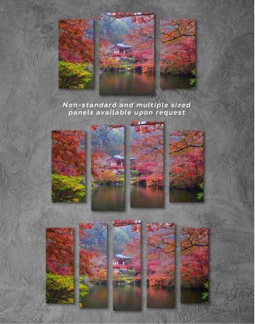 Japan Temple Canvas Wall Art - image 4