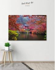 Japan Temple Canvas Wall Art