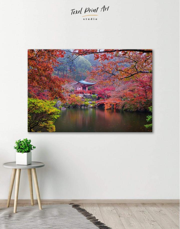 Japan Temple Canvas Wall Art - Image 0