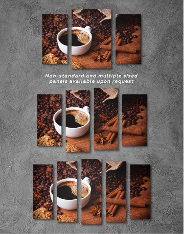 Cup of Coffee Canvas Wall Art - image 2