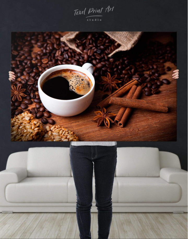 Cup of Coffee Canvas Wall Art - Image 5
