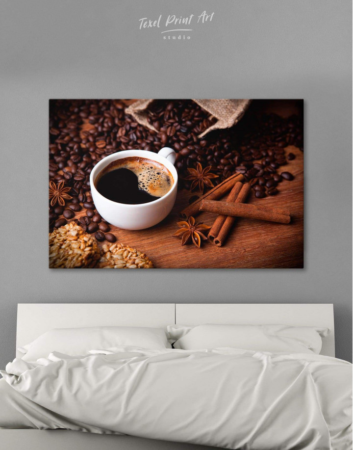 Cup of Coffee Canvas Wall Art