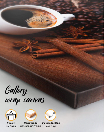 Cup of Coffee Canvas Wall Art - image 4