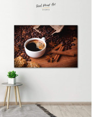Cup of Coffee Canvas Wall Art - Image 6