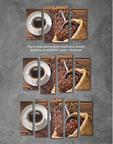 Aroma Coffee Canvas Wall Art - image 5