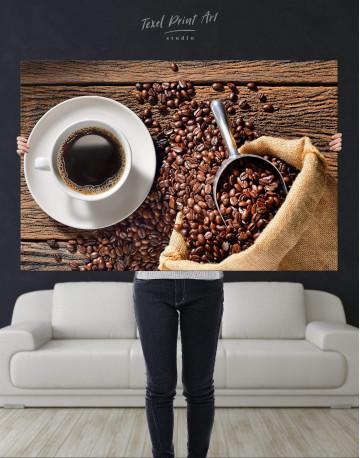 Aroma Coffee Canvas Wall Art - image 2