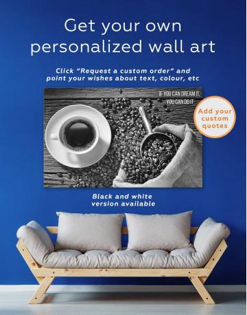 Aroma Coffee Canvas Wall Art - image 6