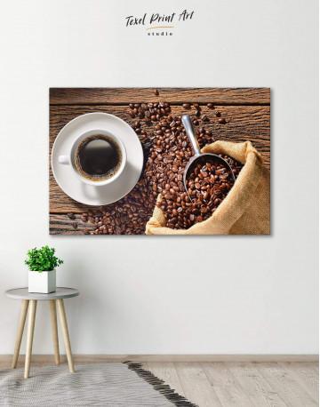 Aroma Coffee Canvas Wall Art - image 1