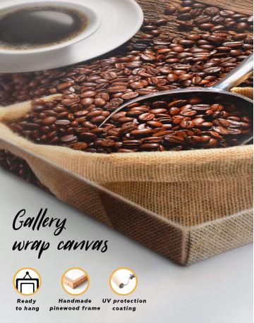 Aroma Coffee Canvas Wall Art - image 3