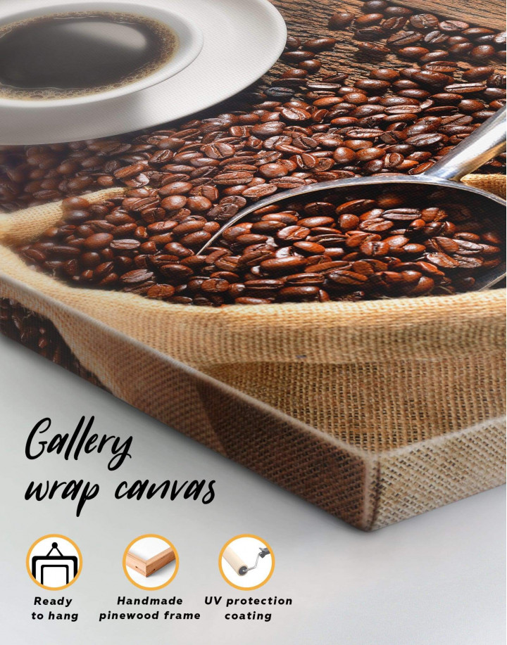 Aroma Coffee Canvas Wall Art - Image 3