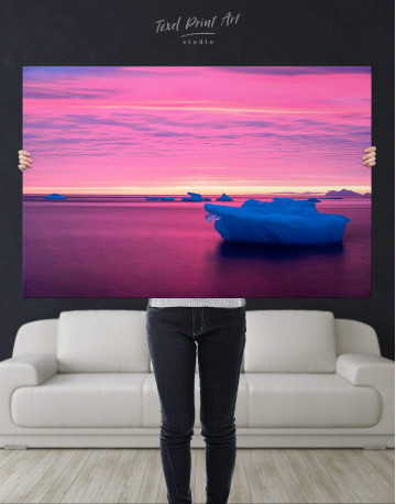 Ice on Water Canvas Wall Art - image 4