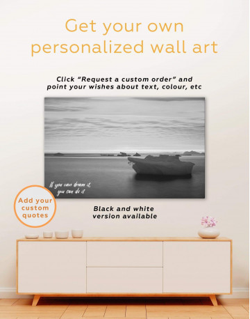 Ice on Water Canvas Wall Art - image 1