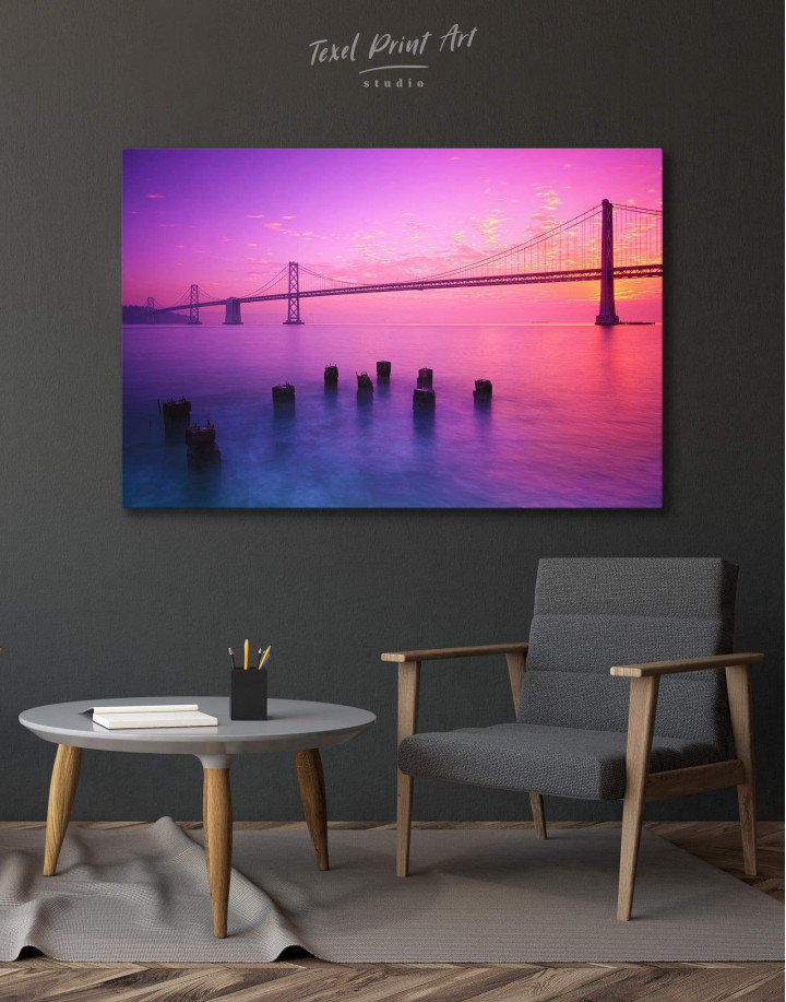 San Francisco Bridge Canvas Wall Art - Image 0
