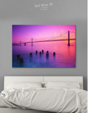 San Francisco Bridge Canvas Wall Art - Image 1